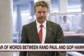 War of words between Rand, GOP hawks heats up