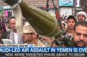 Saudi-led strikes in Yemen over