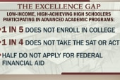 Can excellence gap in US education be closed?