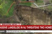 Homeowners evacuated after massive landslide