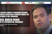 Is climate change a 'litmus test' for 2016...
