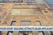 'Poor door' building attracts 88,000...