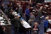 Bipartisan fist bump made in Senate shades