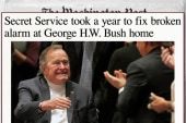 Secret Service delayed replacing Bush alarm
