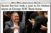 Secret Service delayed replacing Bush alarm