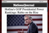 Rubio on the rise in GOP power ranking