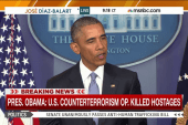 Obama takes responsibility for hostage deaths
