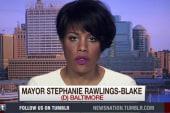 Baltimore mayor focused on community