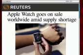 Apple watch goes on sale Friday