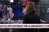 New documentary follows Huntsman in China
