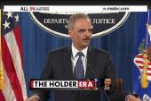 Eric Holder's last day