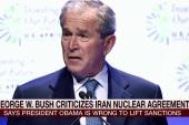 George W. criticizes Obama over Iran, Iraq...