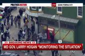 Gov. Hogan monitoring Baltimore situation