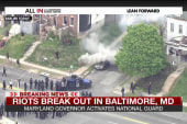 Pastor expresses 'dismay' over Baltimore...