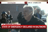 Md. gov: All parts of the city will be safe