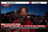 'Bloods' member calls for peace in Baltimore