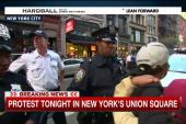 Police make arrests at NYC protests