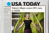 US CEO's salary rises 69 percent to $42M