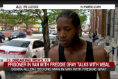 Prisoner in van with Freddie Gray speaks out
