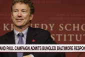Rand Paul makes Baltimore blunder