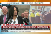 Freddie Gray's death ruled a homicide