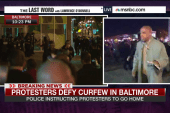 'There's a big presence of police'