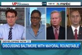 Mayoral roundtable on Baltimore tensions