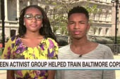 Teen activists work with cops and community