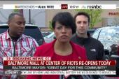 Baltimore mayor: 'We will get better.'