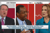 Fiorina, Huckabee, Carson expected to...