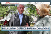 Bill Clinton: 'I gotta pay our bills.'