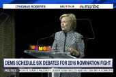 Democrats schedule six debates for...