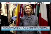 Clinton's favorability wanes in new poll