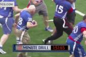 A touching touchdown