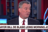 De Blasio: I'm optimistic about Hillary