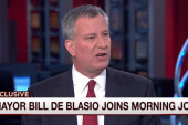 De Blasio: Slain New York cop was a 'hero'