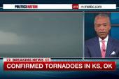 Confirmed tornadoes strike KS, OK