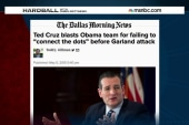 Ted Cruz plays the blame game