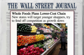 Whole Foods planning a lower-cost chain