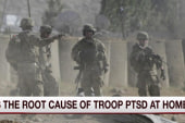 Is weatlh tied to increased PTSD?