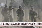 Is weatlh tied to increased PTSD?