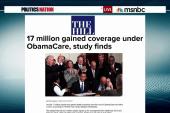17 Million now have healthcare