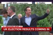 Big surprise in UK national election
