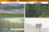 Millions facing violent weather across US