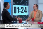 LeBron's game-winner the best of his career?