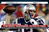 Tom Brady suspended for four games
