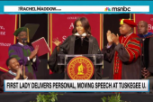 First Lady opens up on race