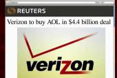 Verizon to buy AOL for $4.4B
