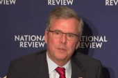 Jeb Bush under fire from conservatives