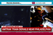 Several injured as passenger train derails